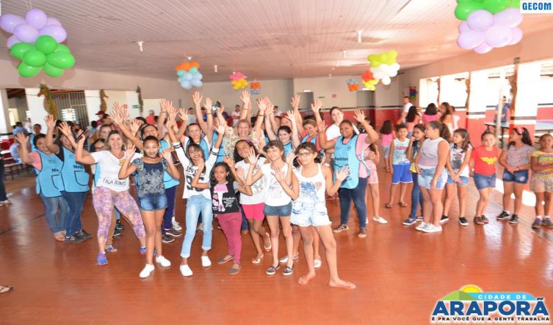 Imagem destaque notícia Prefeitura de Araporã oferta lazer e diversão através da Colônia de Férias