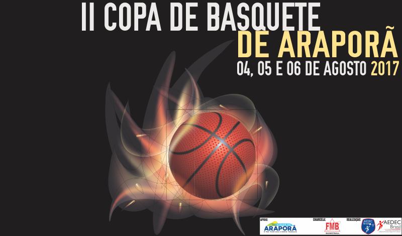 Imagem destaque notícia Araporã vai sediar a II Copa de Basquete