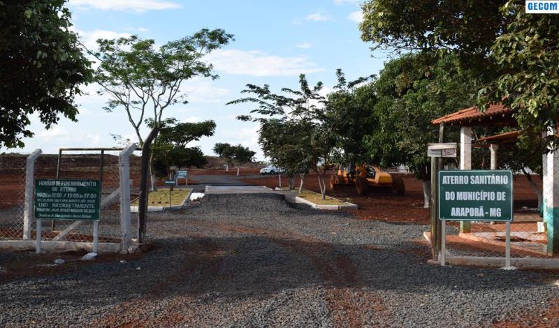 Imagem destaque notícia INAUGURAÇÃO DO PARQUE SANITÁRIO DE ARAPORÃ REPERCUTE EM TODO TRIÂNGULO MINEIRO