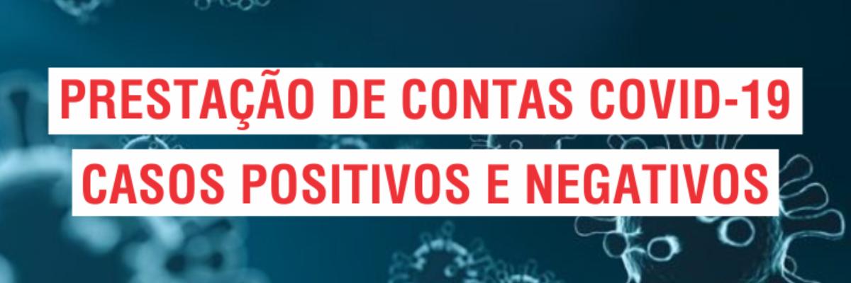 Título notícia PRESTAÇÃO DE CONTAS COVID-19 - 24/09/2021