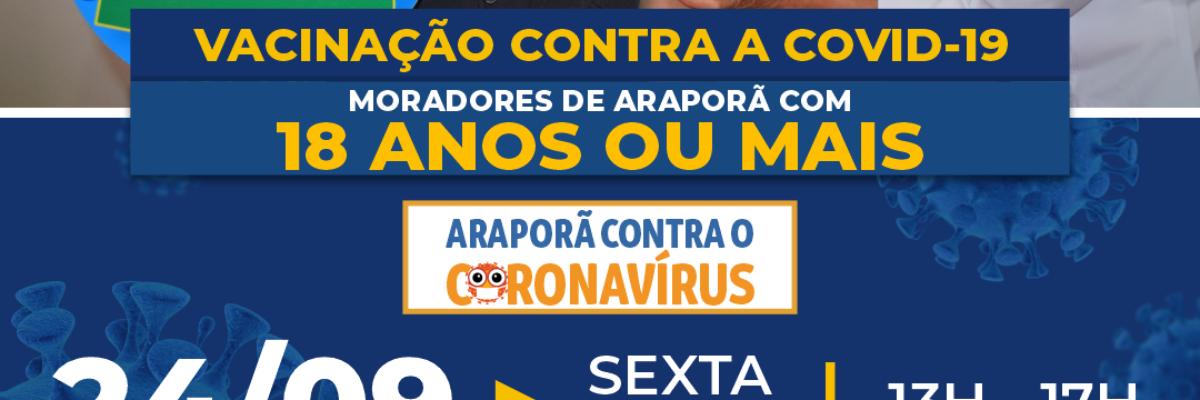 Imagem destaque notícia EU TO COM PRESSA E QUERO VACINAR