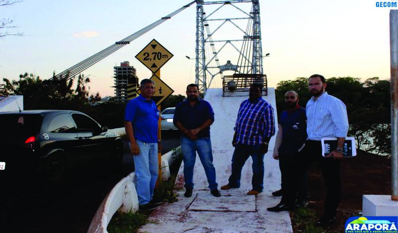 Imagem destaque notícia Araporã e itumbiara anunciam medidas restritivas ao trânsito de veículos sobre a ponte afonso pena