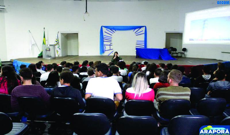 Imagem destaque notícia Educação ambiental é tema de palestra para alunos da rede pública