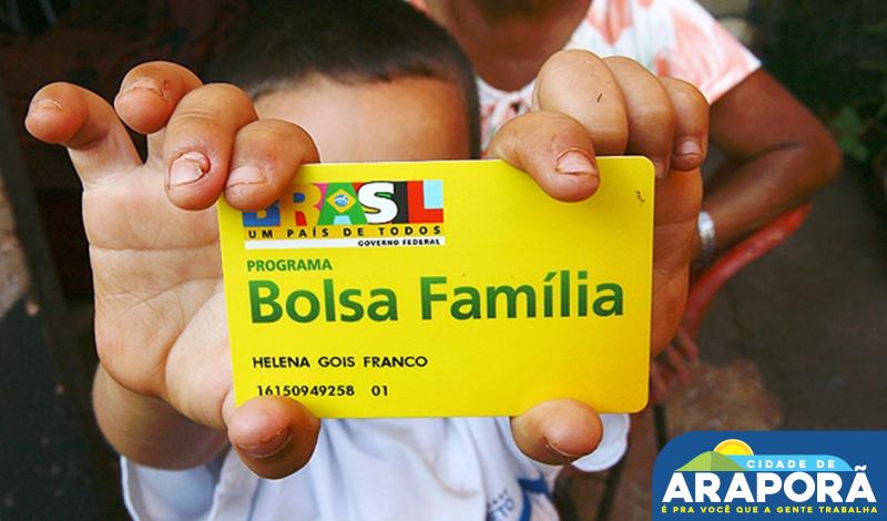 Imagem destaque notícia Bolsa Família paga benefício a 330 famílias de Araporã