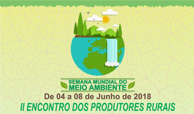 Imagem destaque notícia Secretaria de Meio Ambiente prepara programação para Semana Mundial do Meio Ambiente